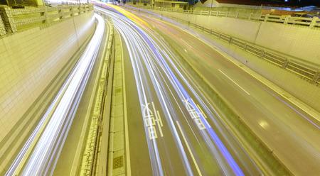 schlagbaum: Autofahren in den Untergrund