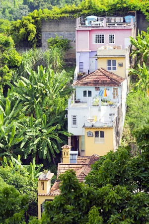 View of Santa Teresa in Rio Stock Photo