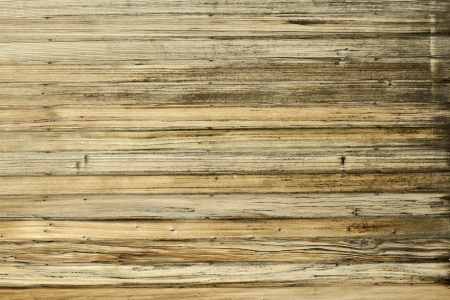 Aged horizontal wooden wall pattern photo