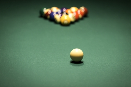 number eleven: Pool table