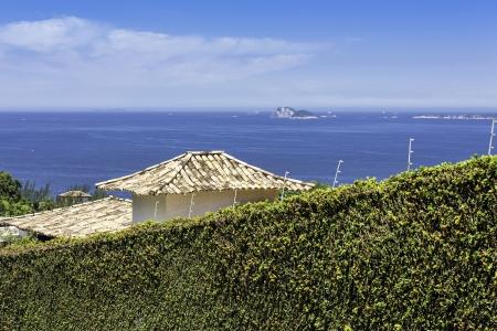 joa: Blue ocean in Rio De Janeiro, Brazil