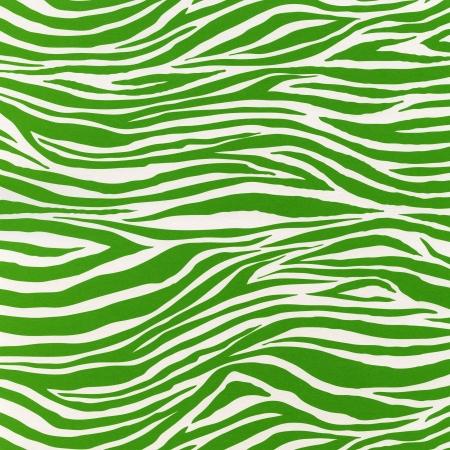 Zebra green seamless pattern Stock Photo