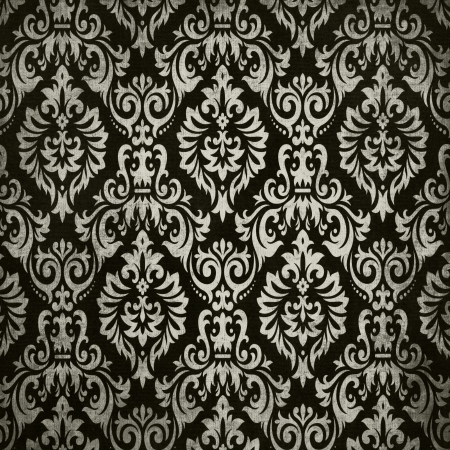 Black vintage background pattern photo