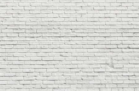 Whit brick wall for background or texture Stock Photo - 20167493