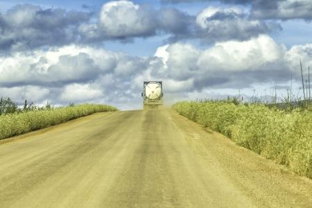 Dalton Highway on the way to Arctic Circle photo