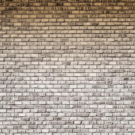 Interior design - brick wall with gradient