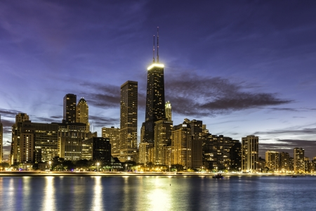 Downtown Chicago by dust photo