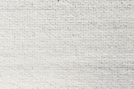 pared rota: Pared de ladrillo de color blanco para el fondo o la textura Foto de archivo