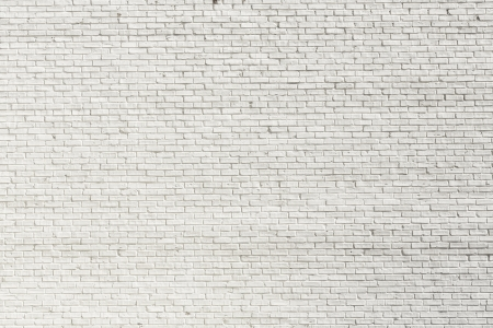 brick: White brick wall for background or texture