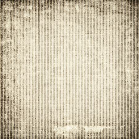 fine print: Old paper with vertical stripes for texture Stock Photo