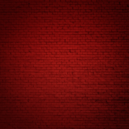 Brick red wall as christmas background photo