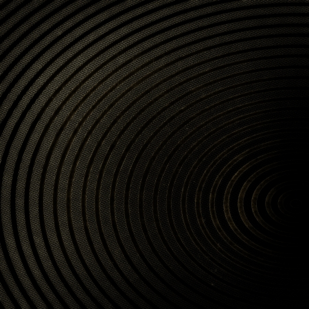 sonic: Retro background with circle lines - abstract poster