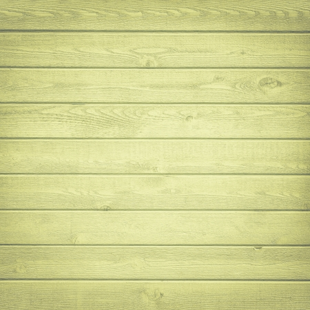 Horizontal green wooden fence  photo