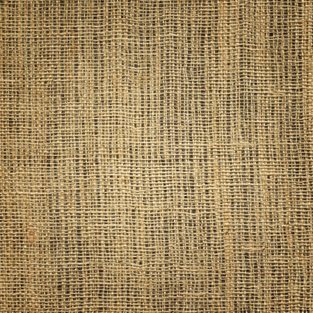 sackful: Brown linen texture for background with light center