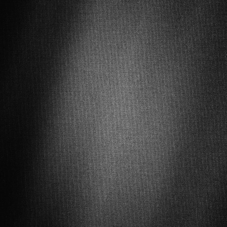 linen texture: Black linen canvas background with texture Stock Photo