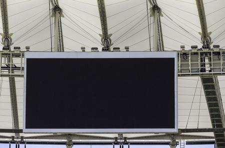 Electronic billboard display at stadium