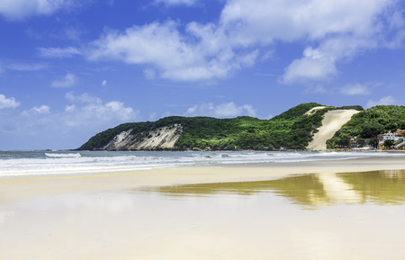 Ponta Negra dunes beach in Natal city,  Brazil