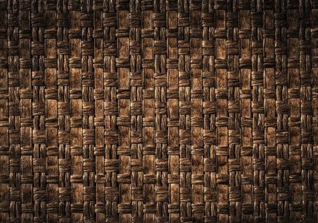 Brown woven leather background Reklamní fotografie