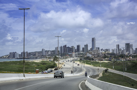 Panorama view of Natal city, Brazil photo