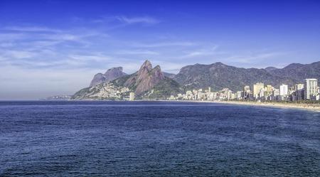 Ipanem Beach in Rio de Janeiro  Brazil photo