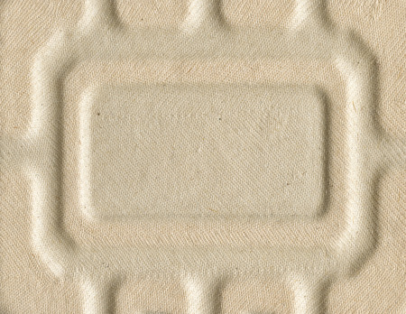 light brown: Light brown embossed recycling carton texture Stock Photo