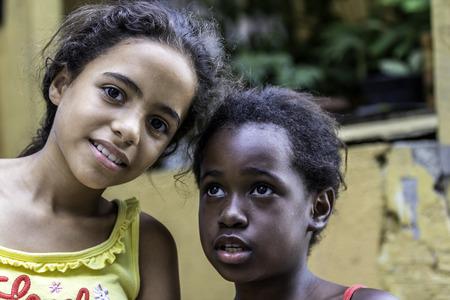illiteracy: Children in Favela, Rio de Janeiro, Brazil