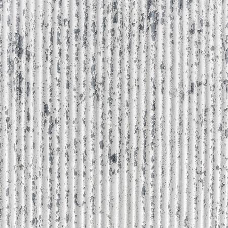 White corrugated metal background