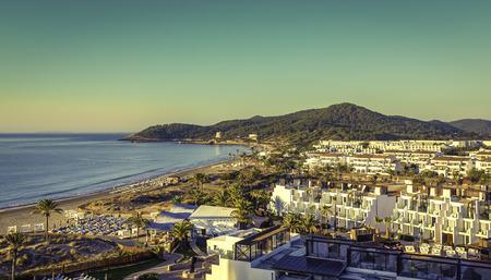 sunrise over Ibiza Eivissa Imagens