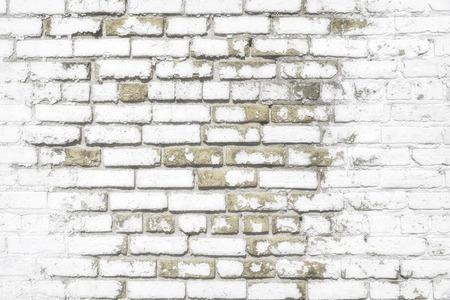 背景やテクスチャの白いレンガの壁 写真素材 - 32642421