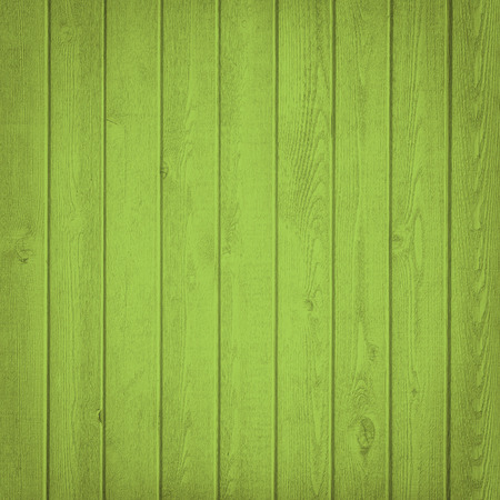 green horizontal: Horizontal green wooden fence close up