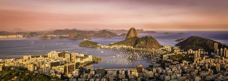 Panorama von Rio de Janeiro, Brasilien Standard-Bild - 34755041
