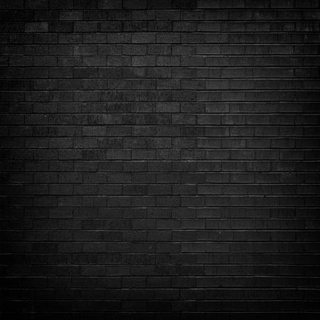 Pared de ladrillo negro para el fondo Foto de archivo - 37975685