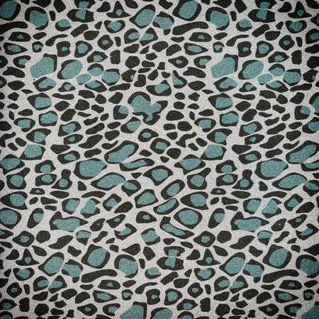 Glitter shiny background  with animal skin pattern