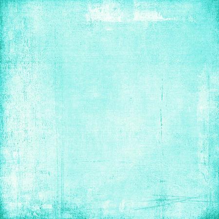 hoja en blanco: Viejo fondo de la turquesa de papel de la vendimia