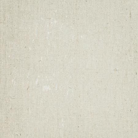 tela blanca: Lienzo de lino de textura de fondo detalle Foto de archivo