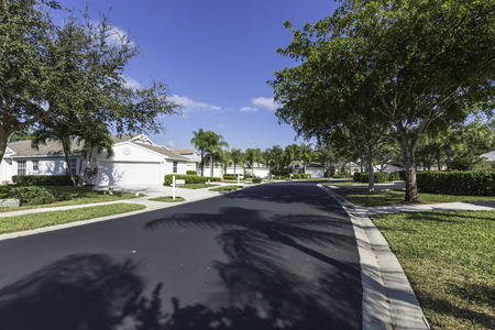 gated: Gated community houses in South Florida