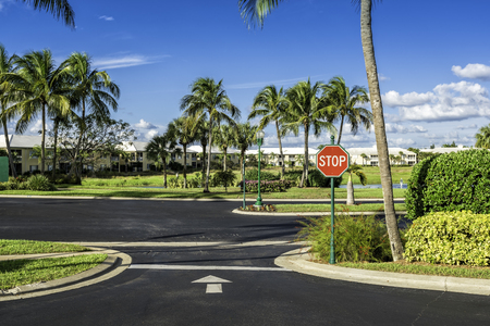 gated: Gated community condominiums in South Florida