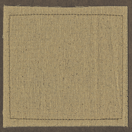 Canvas texture background with thread