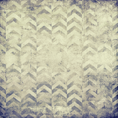 desaturated: Desaturated geometric design on old vintage paper