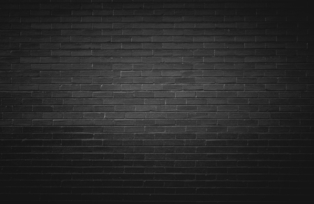 黒レンガ壁の背景 写真素材 - 57043315