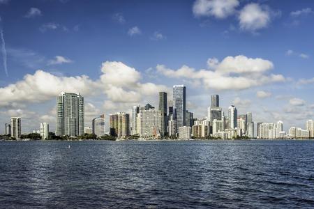 Miami modern city panorama, Florida Reklamní fotografie