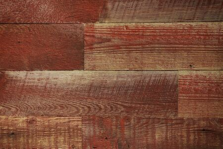 Wood floor background, red planks Stock Photo