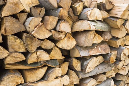 Stacks of Firewood.