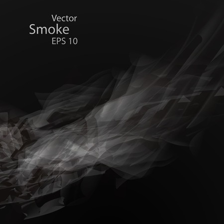 Smoke background , vector elegant wave