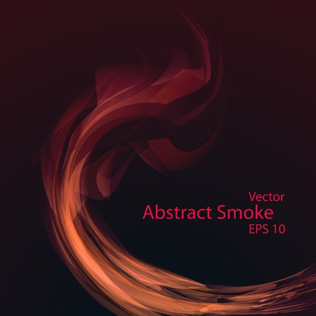 Smoke background , vector elegant wave
