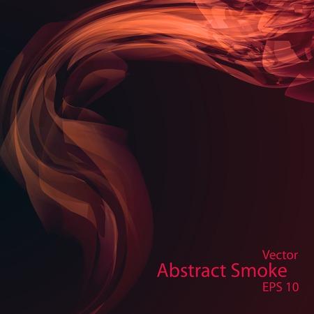 Smoke background eps10, vector elegant wave