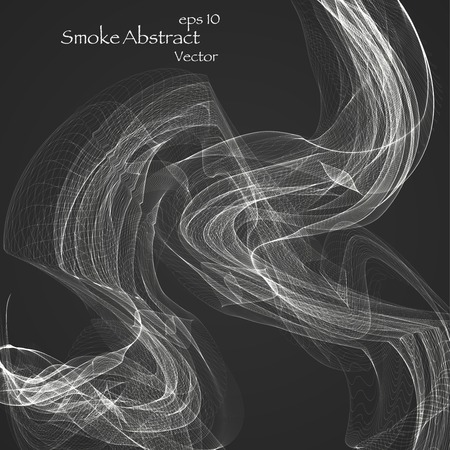Abstract smoke , vector elegant wave