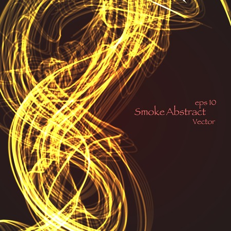 Abstract smoke eps 10, vector elegant wave