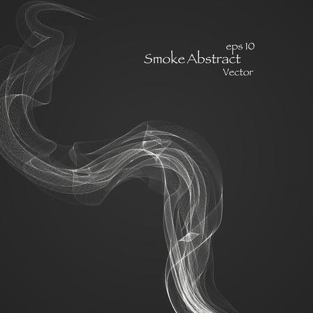 Abstract smoke eps 10 Vector