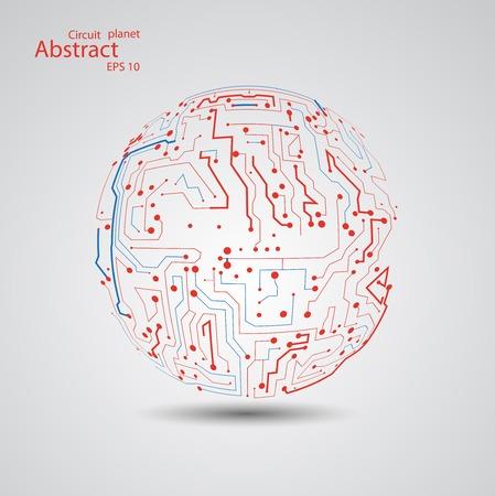 Circuit board planet